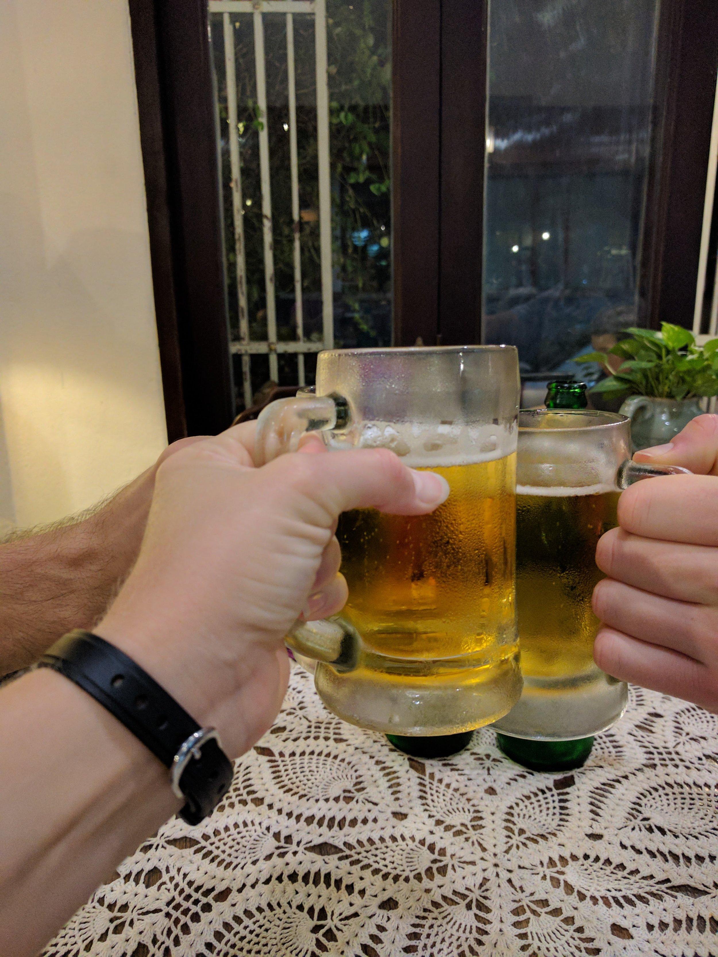 Chok Dee ('cheers' in Thai!)