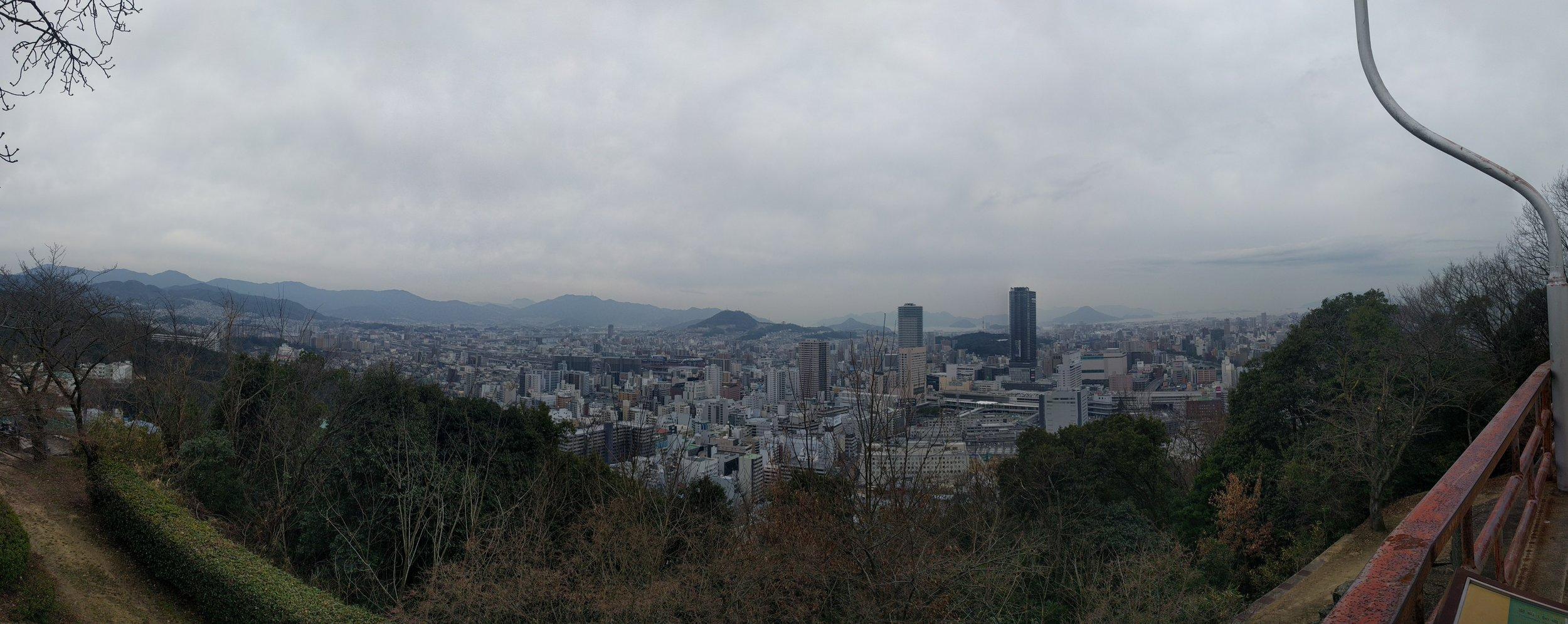 Hiroshima from the Peace Pagoda