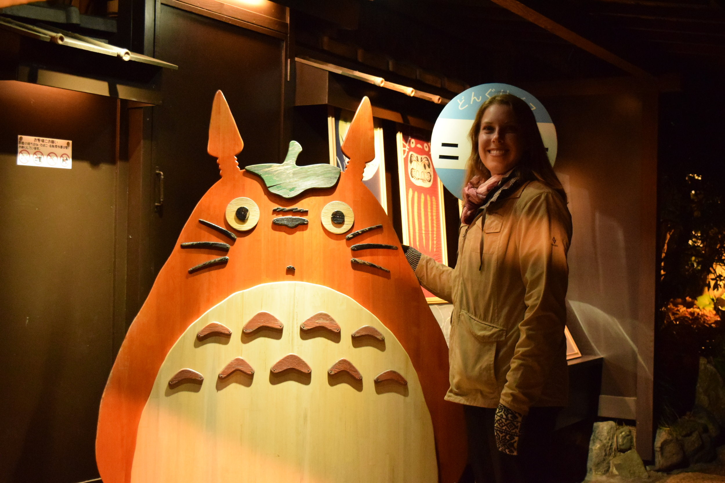Obligatory photo with Totoro!