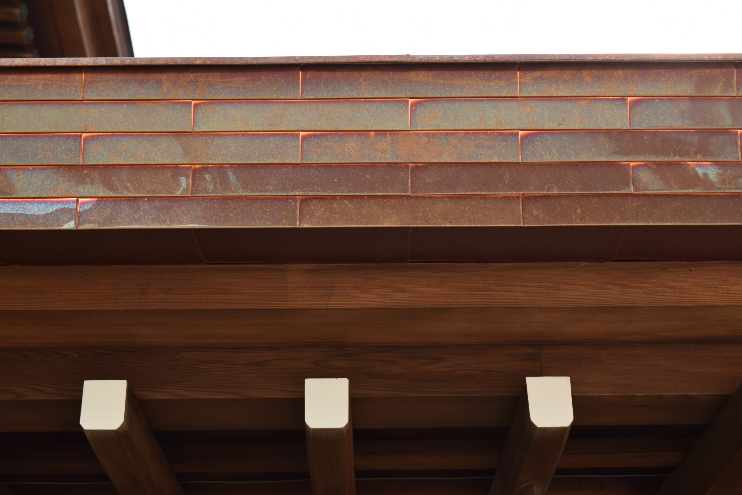 Turns out there are copper roofs outside the UP too!