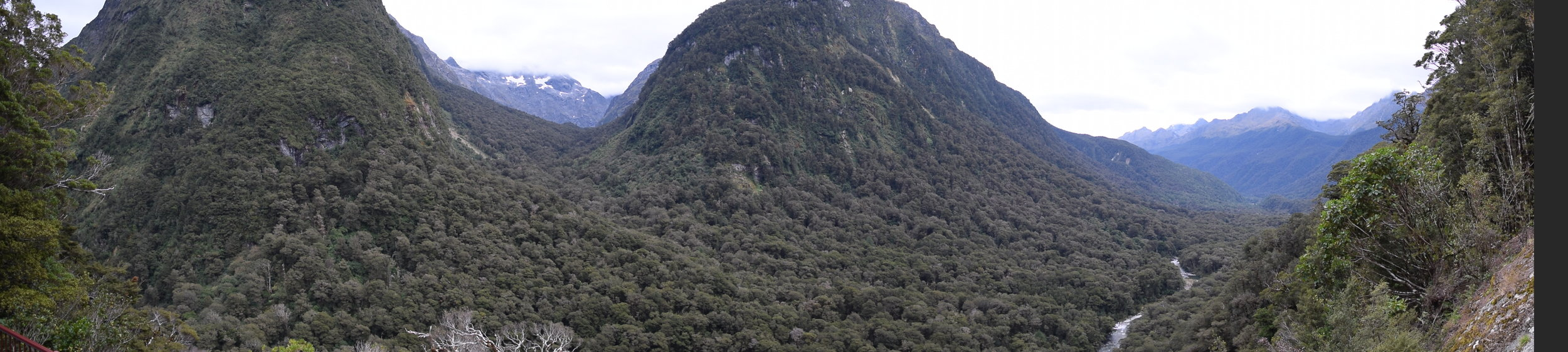 On the road, on the way to Milford Sound