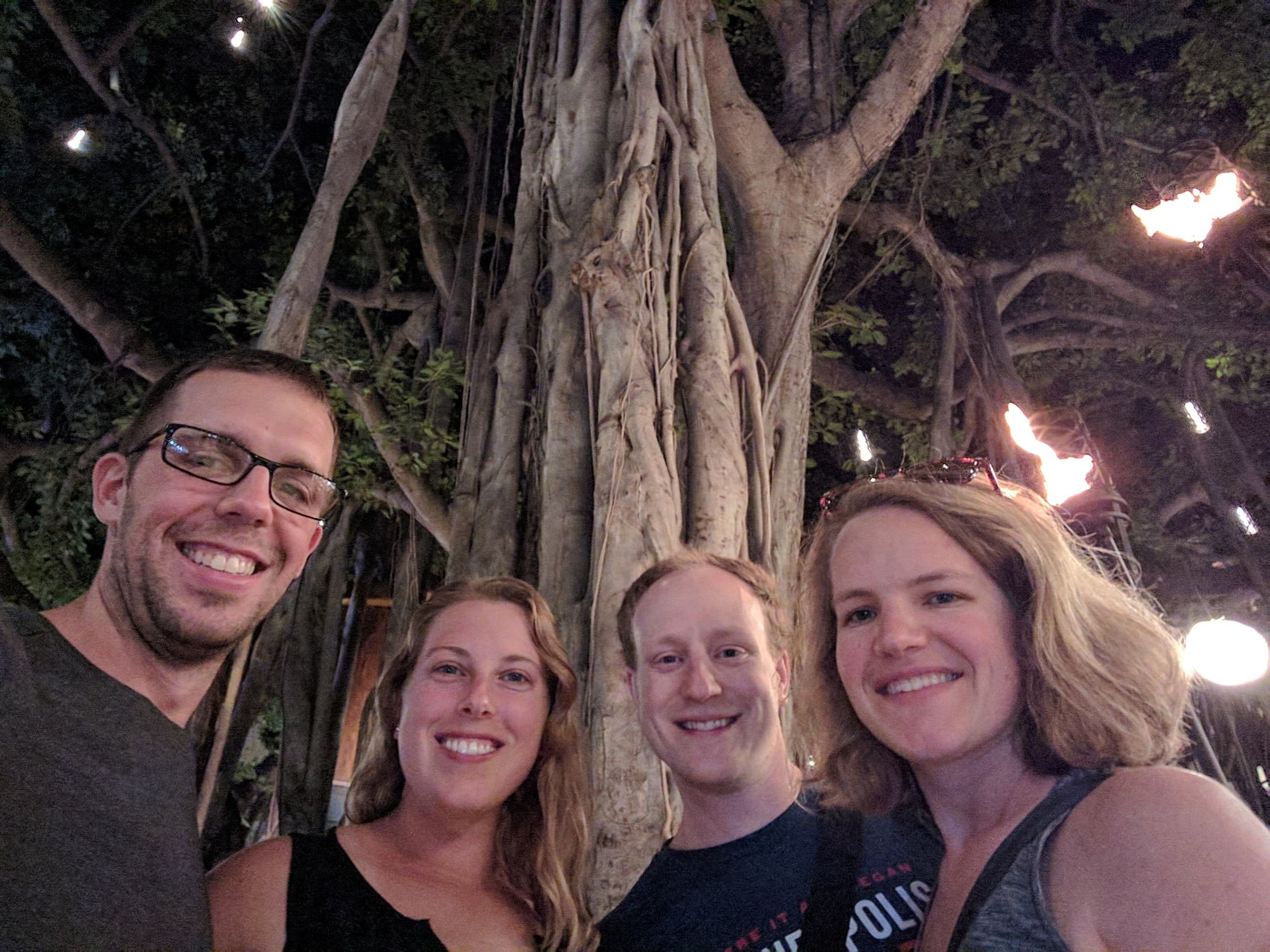 Jeff, Cara, Chip and Marie. Vacationing together since 2016.