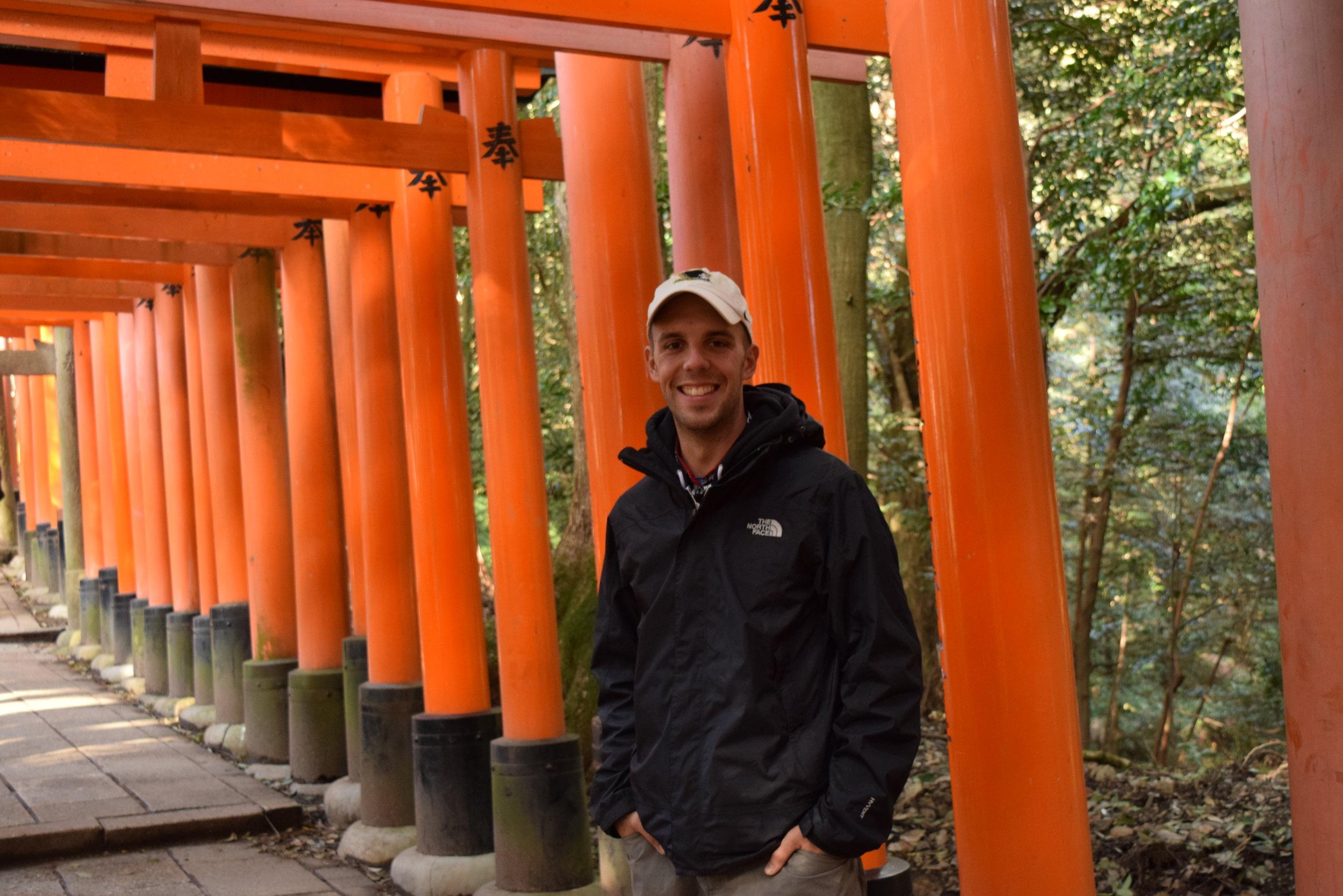 Torii Gates, Kyoto, Japan