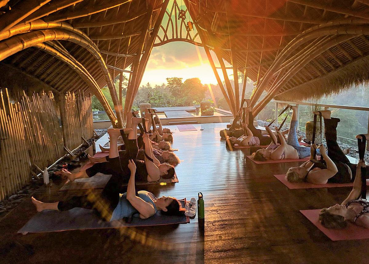 yoga-at-udaya-resort-ubud-bali-sunset-drishti-journeys
