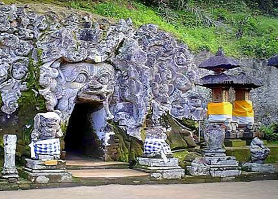 Goa Gajah Temple Elephant Cave