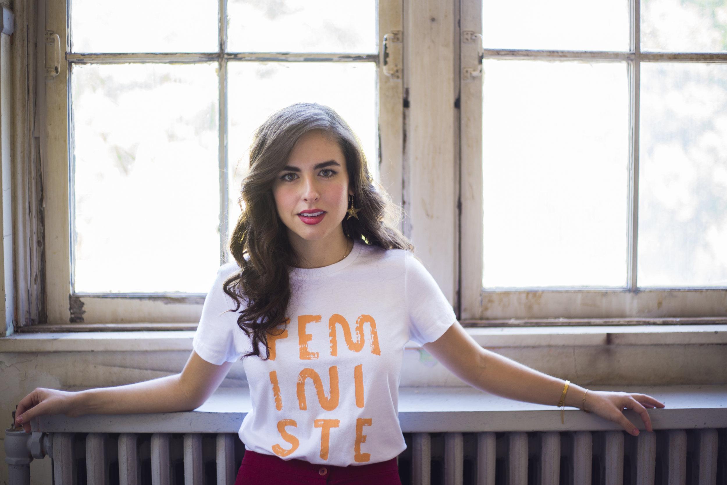 People I've Loved Feministe Slogan T-Shirt