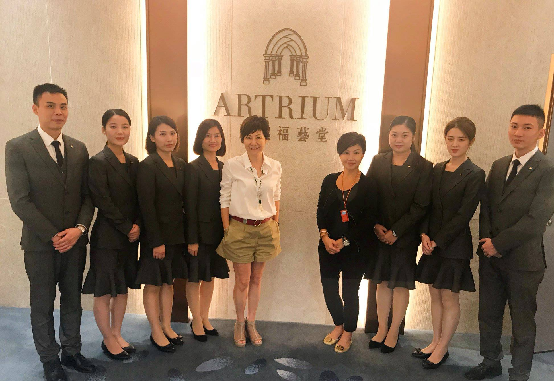 Artrium (周大福艺堂 Chow Tai Fook Yi Tang) in Changsha   Exceptional Customer Value for Top Seller and High Flyers Sales Program via Business Growth mindDer™ and Enneagram (High Flyer Sales & Middle Management, 2018