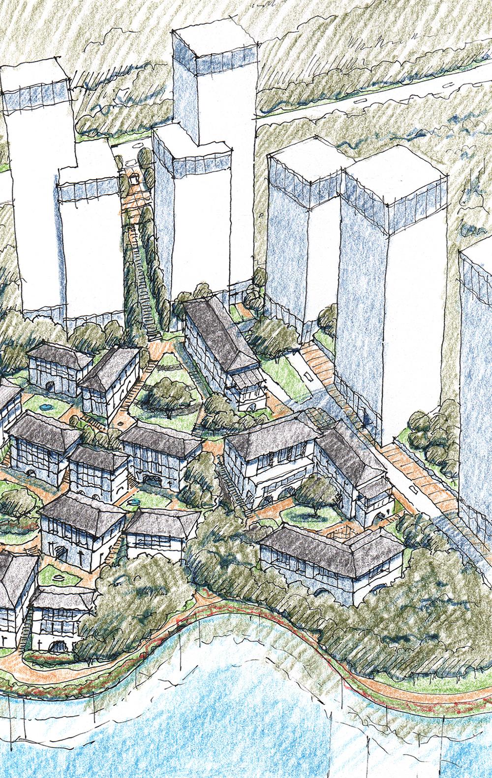 Chongqing_courtyard housing aerial.jpg