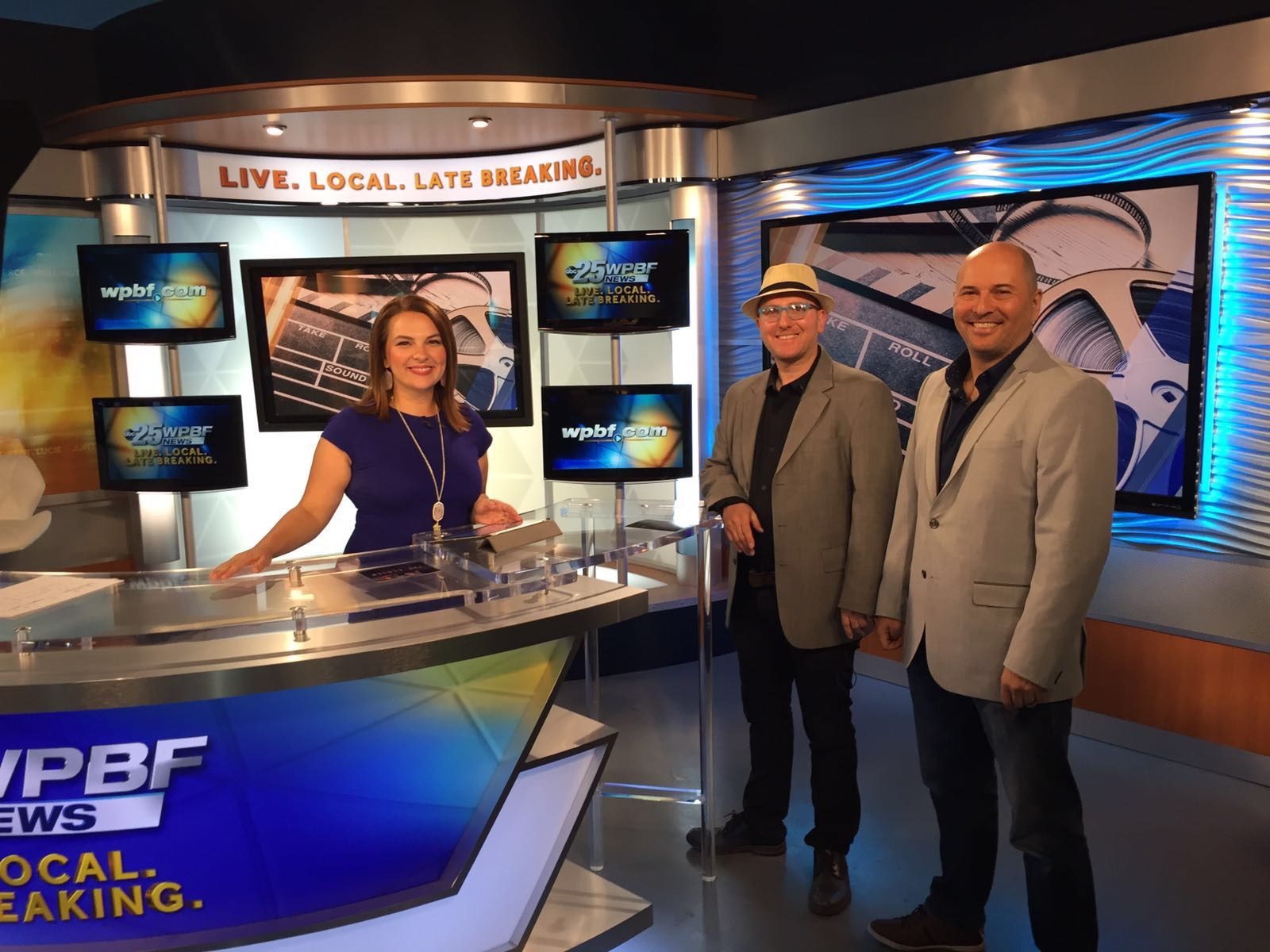 The CLoser Movie Director and Executive Producer on abc tv morning show in palm beach, fl.