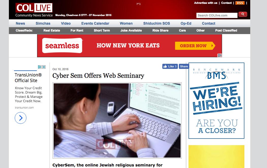 CyberSem feature in Collive.com!