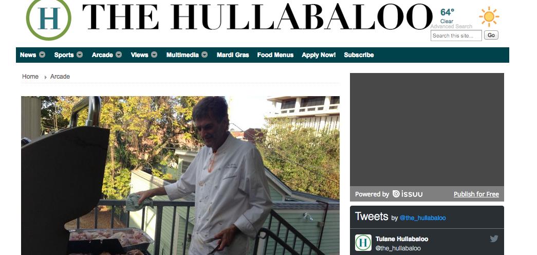 Le Marais in the Tulane University Hullabaloo