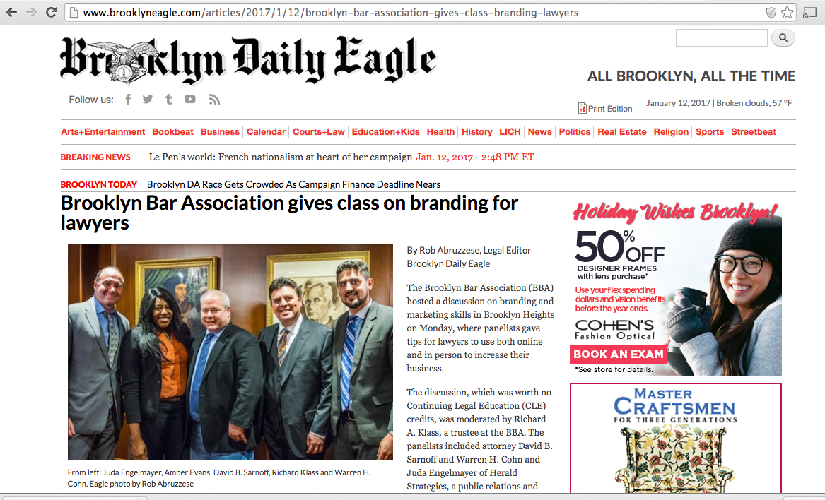 CEO & Founder Warren Cohn's feature in the Brooklyn Eagle
