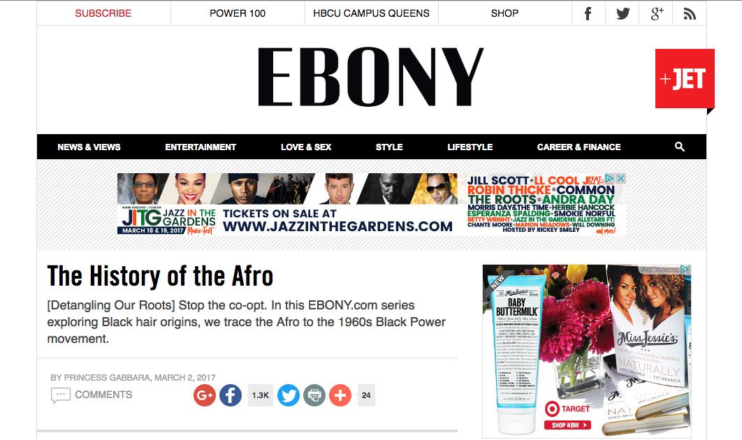 Miko Branch Feature in Ebony