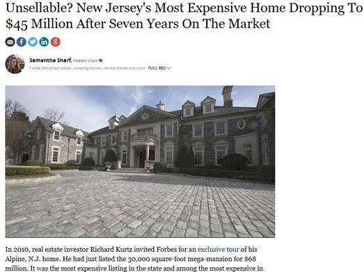 Stone Mansion's feature in Forbes