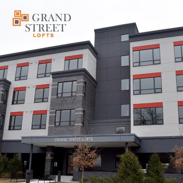 GRAND STREET LOFTS IDENTITY   PHOTOGRAPHY   COPY   PRINT DESIGN