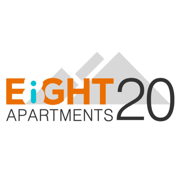 EIGHT20 APARTMENTS REBRAND   IDENTITY   PRINT DESIGN