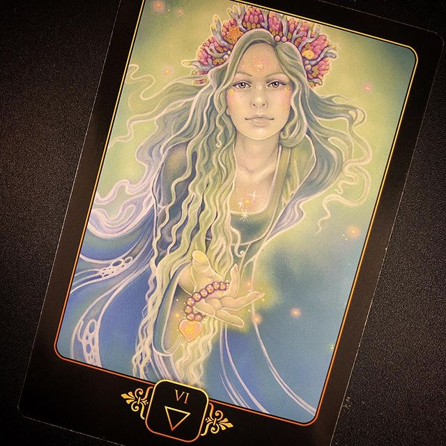 Strive to be better, accept that you will falter, show compassion. To be the peaceful warrior, be as kind and generous to yourself as you are to others. #tarot . . #dreamsofgaiatarot #tarotreading #dailytarotcard