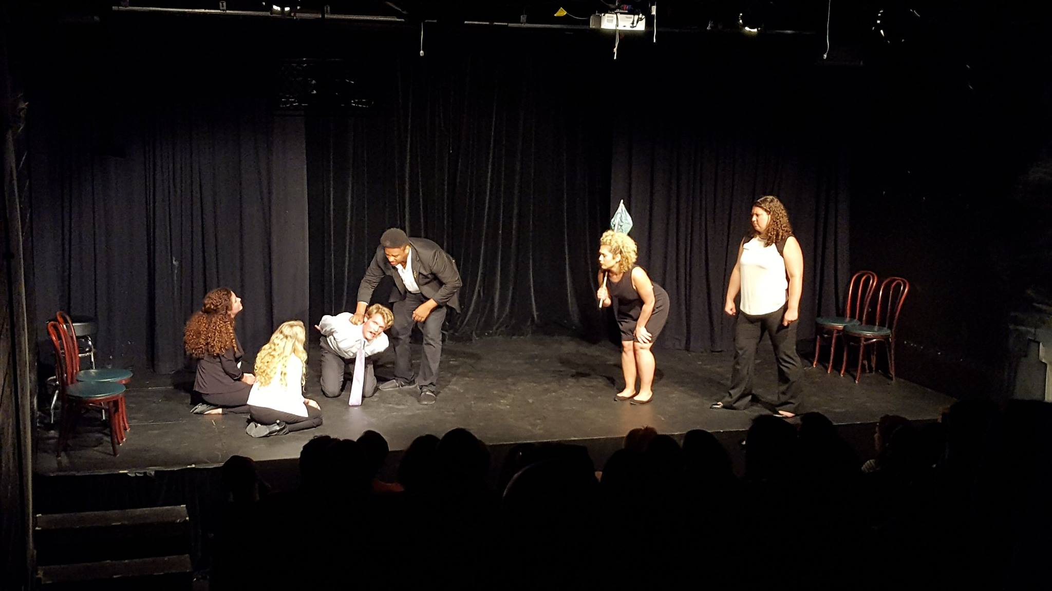 The Great Crow War by Rory Leahy. Featured: Volunteer Comedians Ensemble