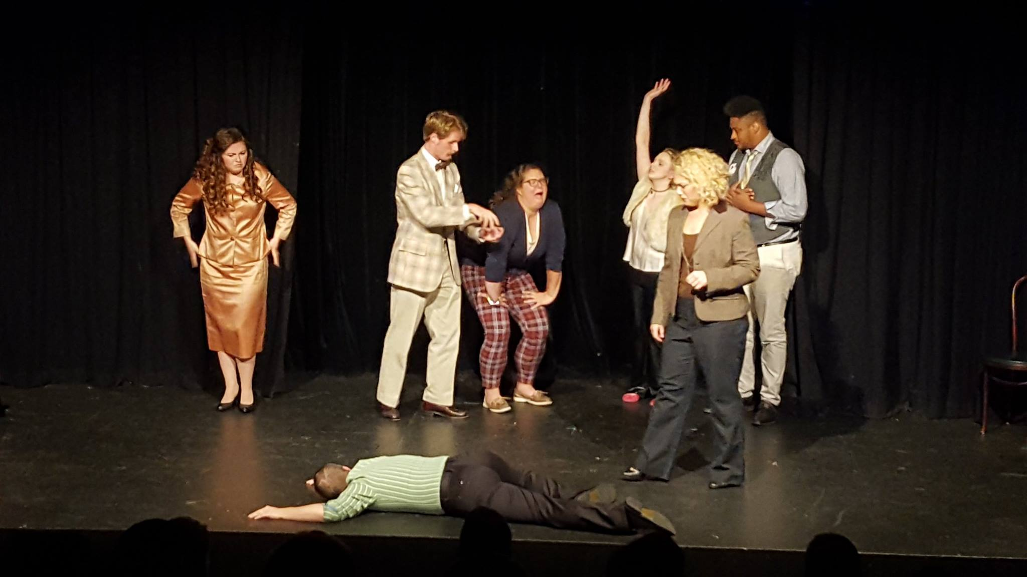 Stop the Insanity: A Low Fat Murder Mystery. Featured: Volunteer Comedians Ensemble