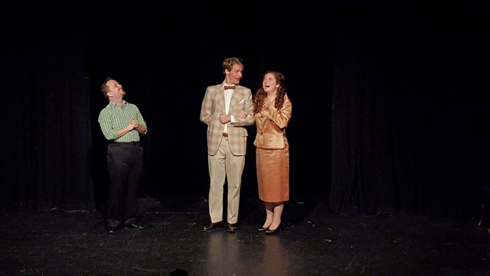 Stop the Insanity: A Low Fat Murder Mystery.  Featured: Nicholas Hodge, Stephen Bromfield & Alison Limke