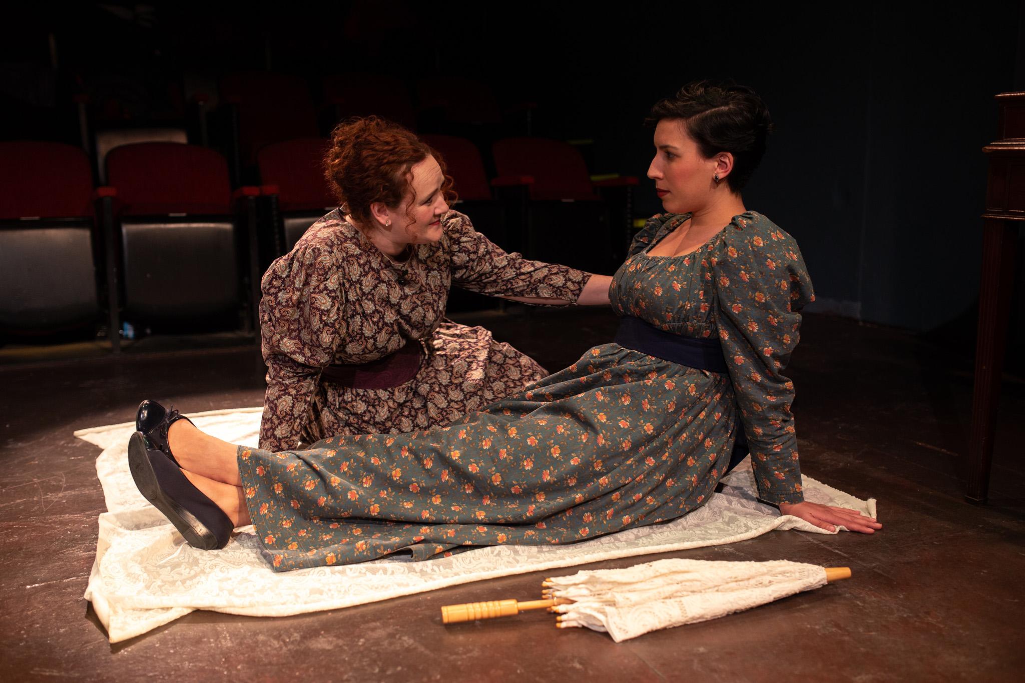 Tib Norcliff (Eleanor Katz), Nancy Brown (Jessie Ellingsen)
