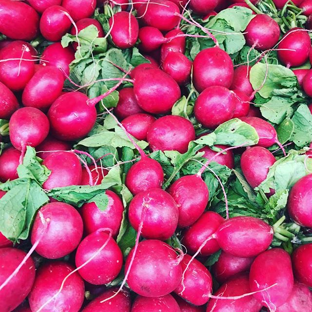 RED ❤️ #radish #veg #portobello #foodie #ingredients #cooking #kitchen #vegan #veganfoodshare