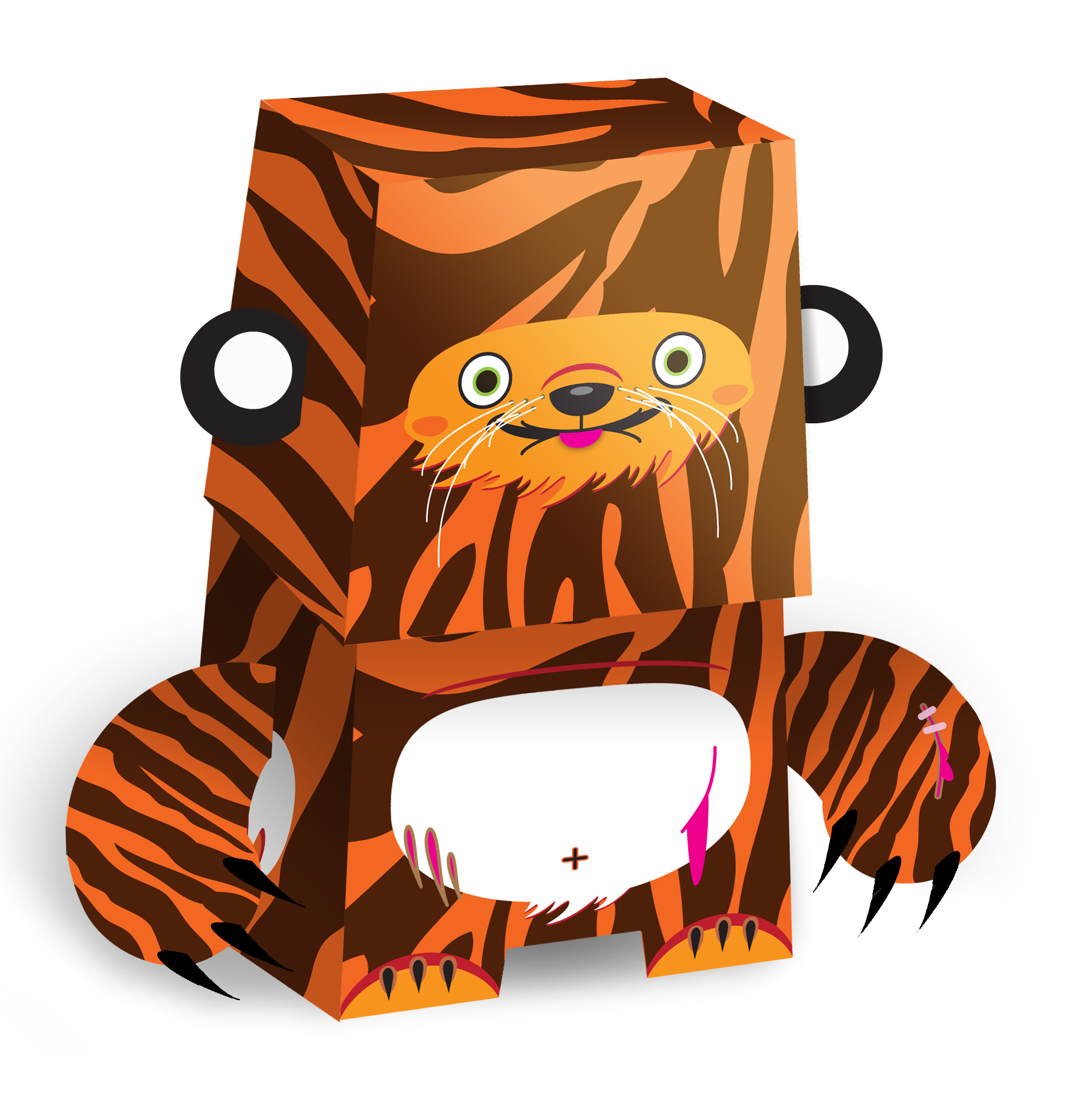 Paper Toy Design / Character Design