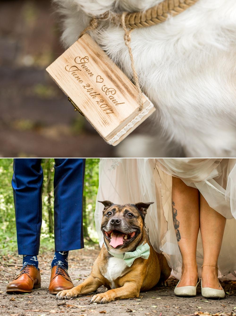 bruiloft met hond