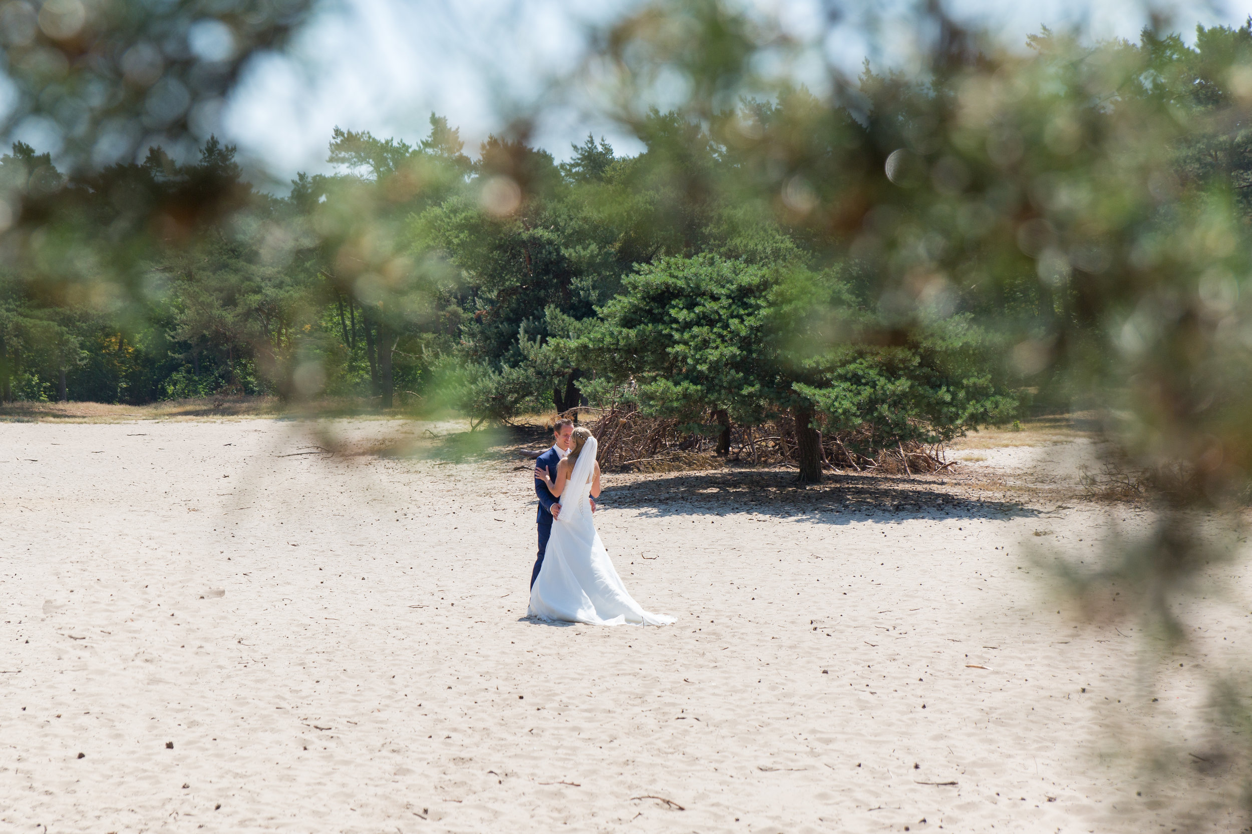 trouwreportage teteringse heide
