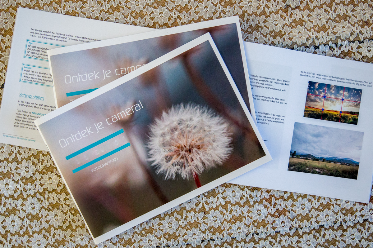 e-book basiscursus fotografie