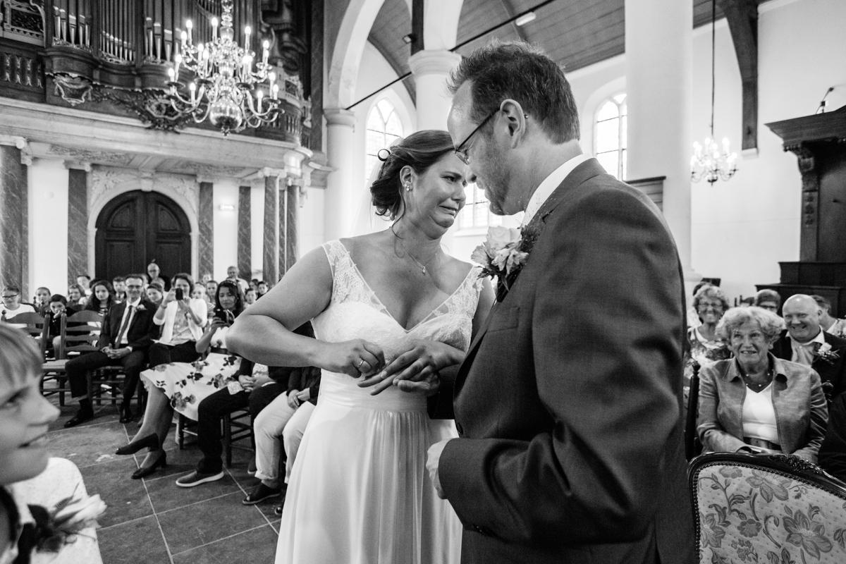 trouwceremonie trouwringen