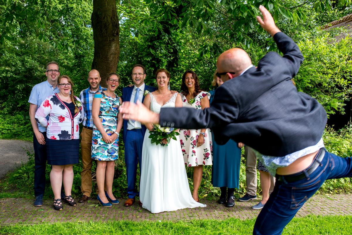 groepsfotos trouwdag