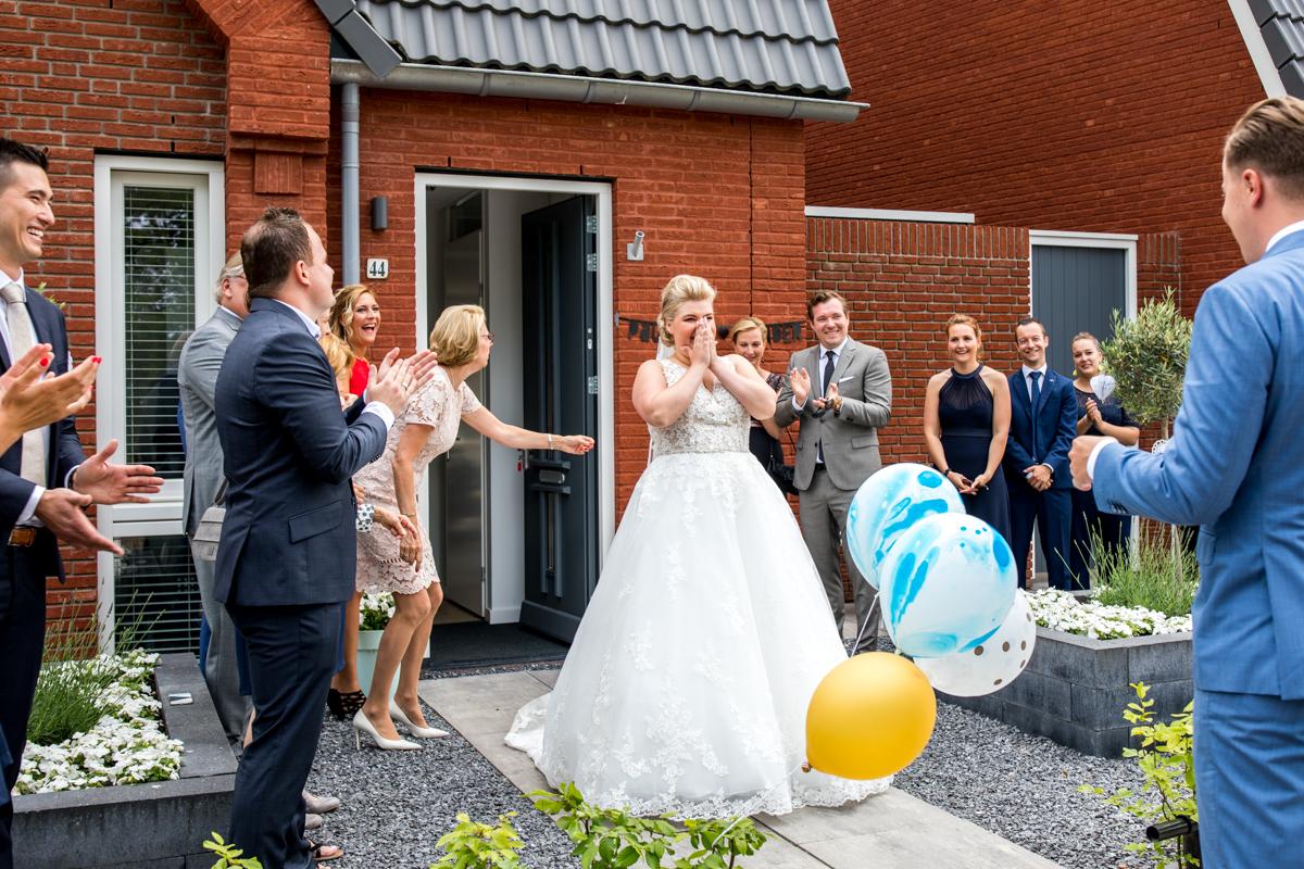 ontmoeting bruidegom bruid