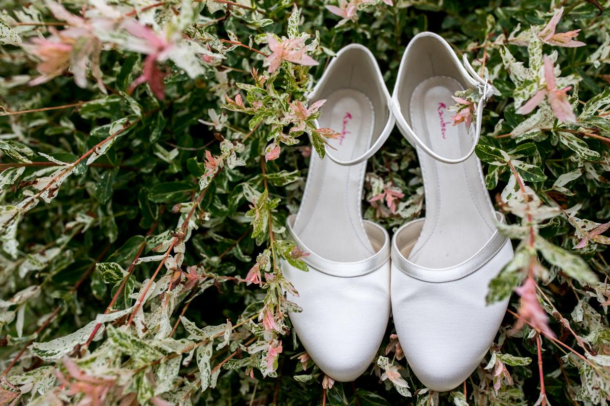 fotograaf bruid trouwschoenen