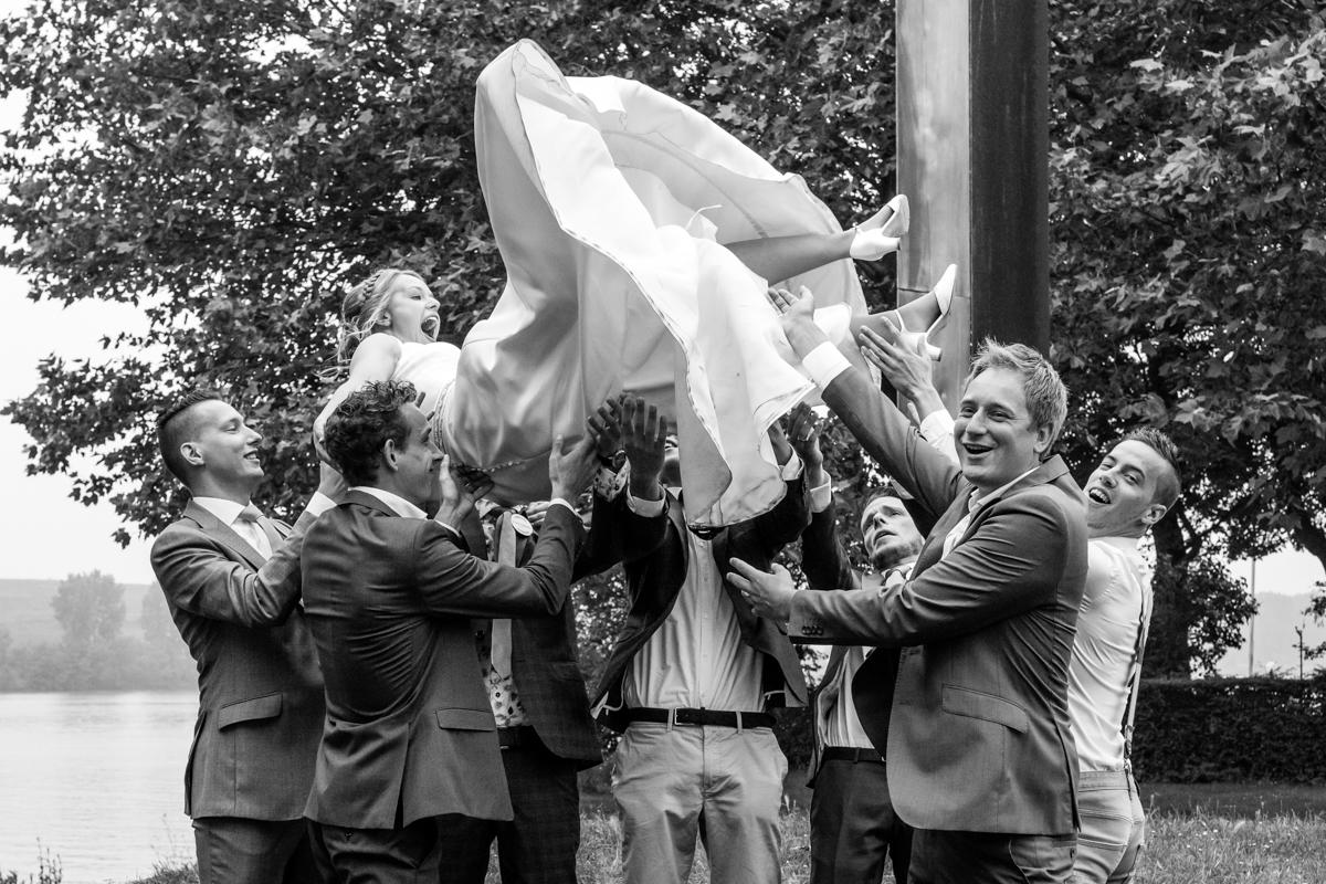 bruid groepsfoto