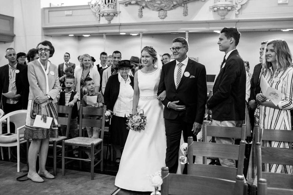 kerkelijke trouwceremonie