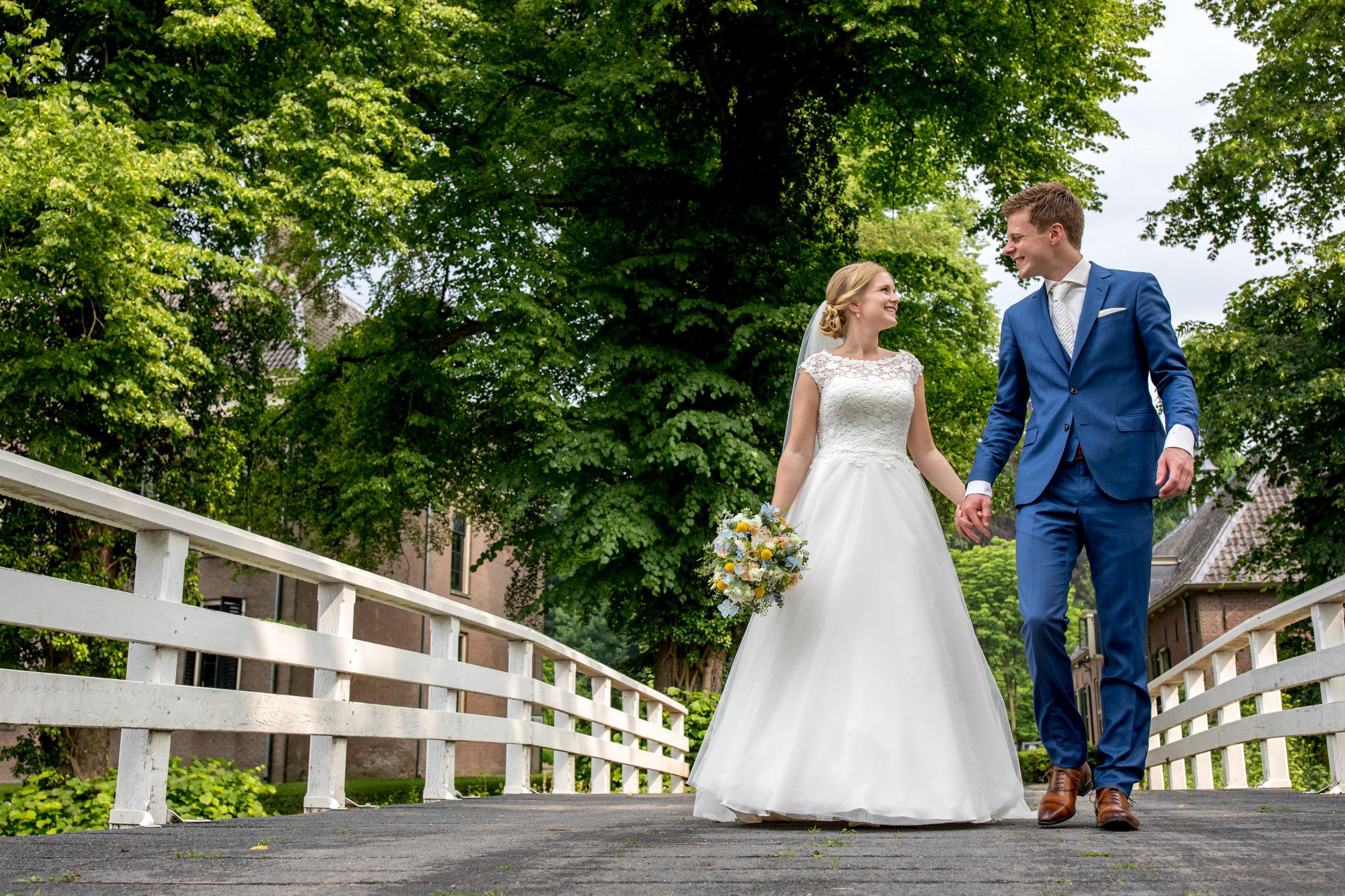 bruiloft in bunnik trouwreportage