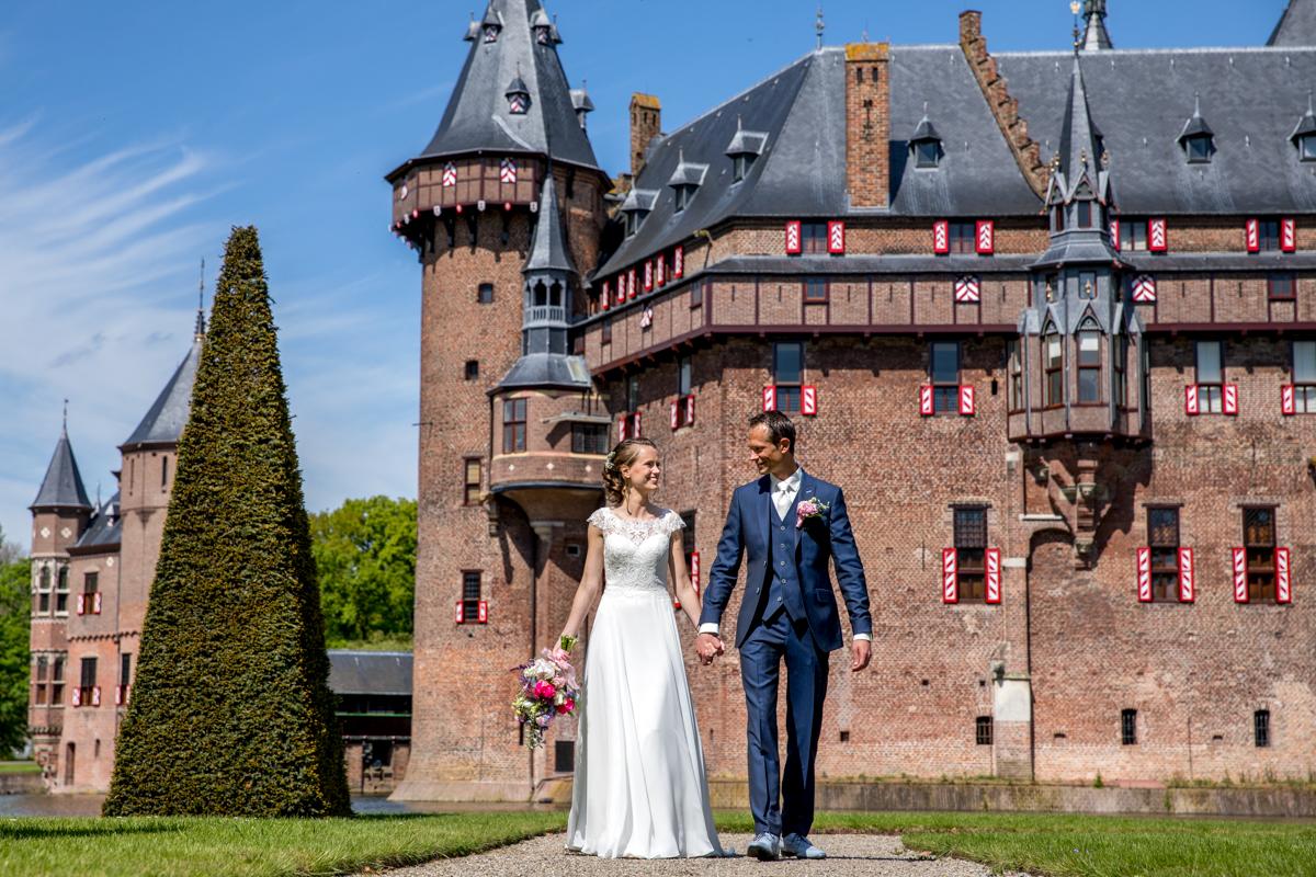 trouwreportage kasteel de haar