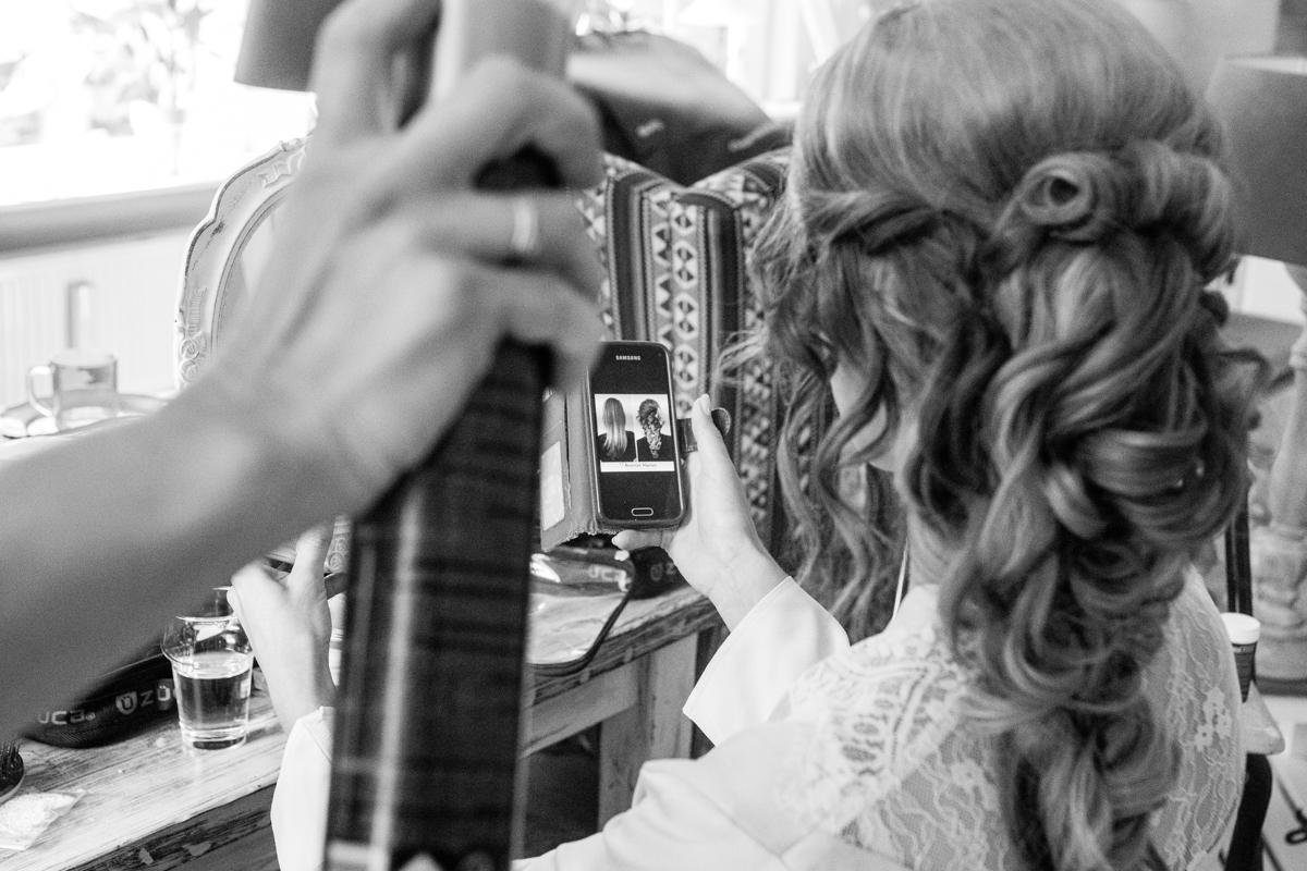 bruid visagie wassenaar