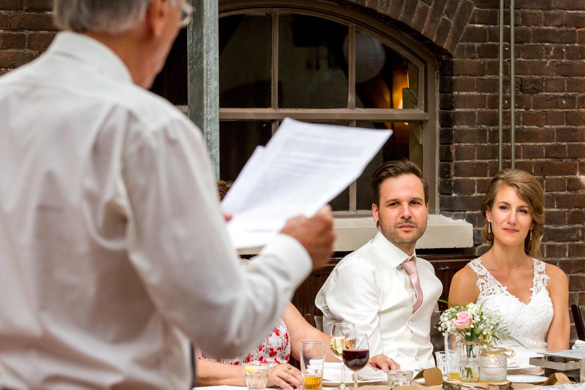 bruidspaar diner herberg vlietzigt