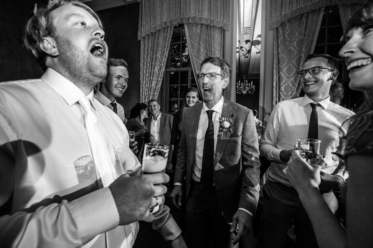 bruiloft feest kasteel