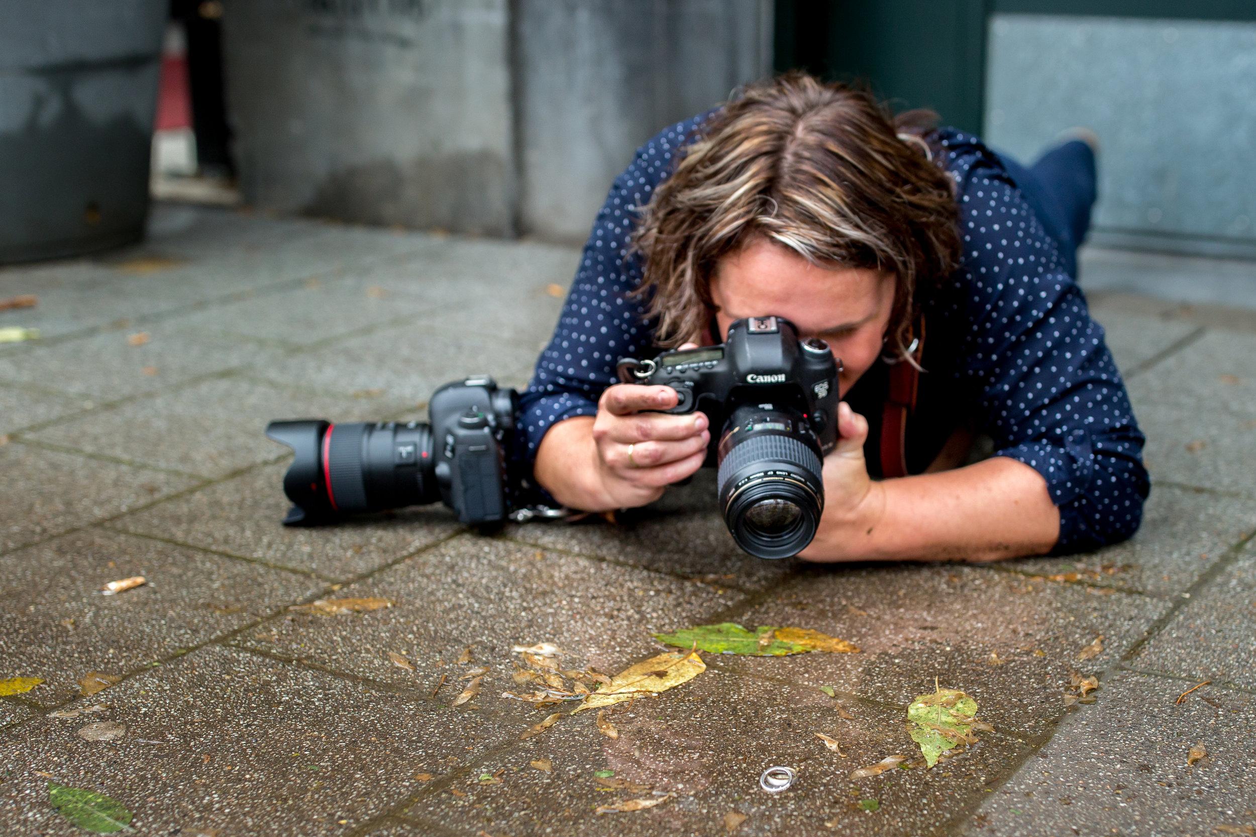 bruidsfotograaf training