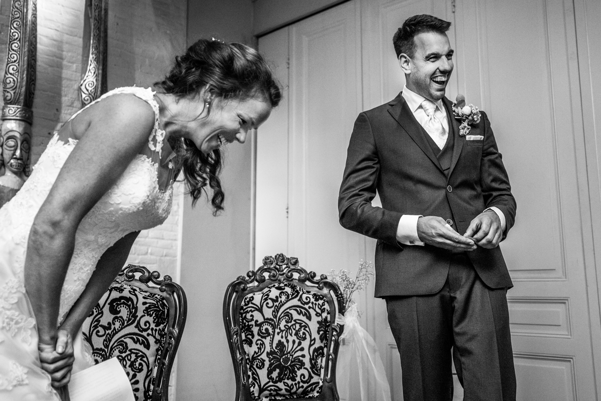trouwgeloften ceremonie