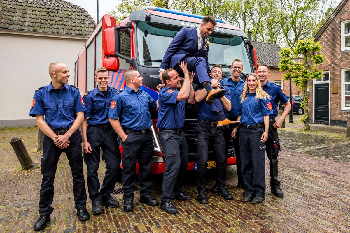 brandweercollega's