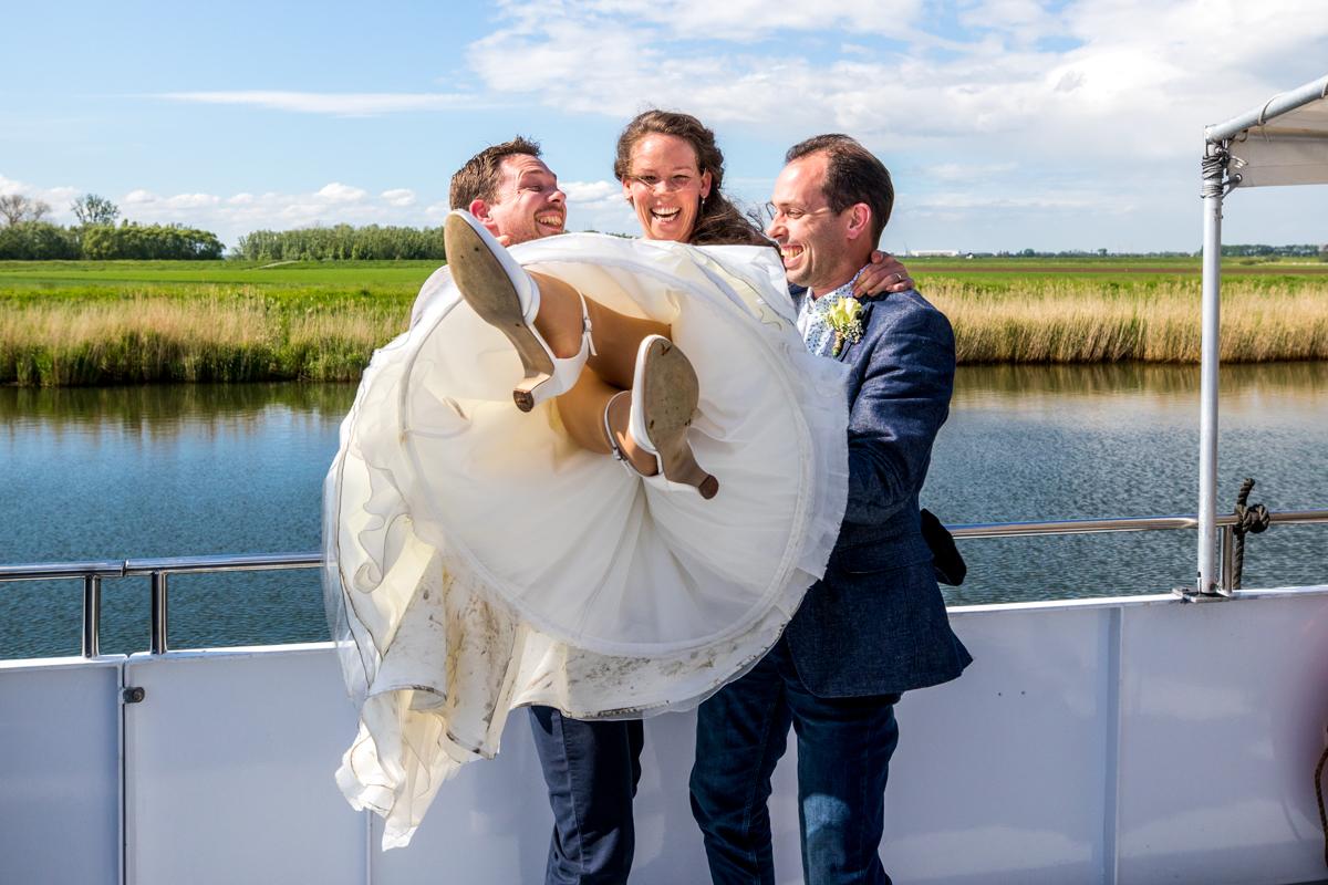 groepsfoto's trouwdag