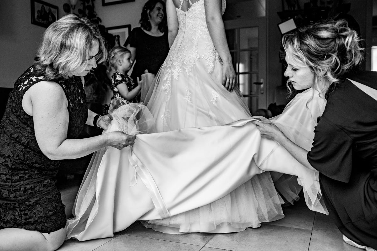 bruidsjurk bruidsfotograaf alphen aan de rijn