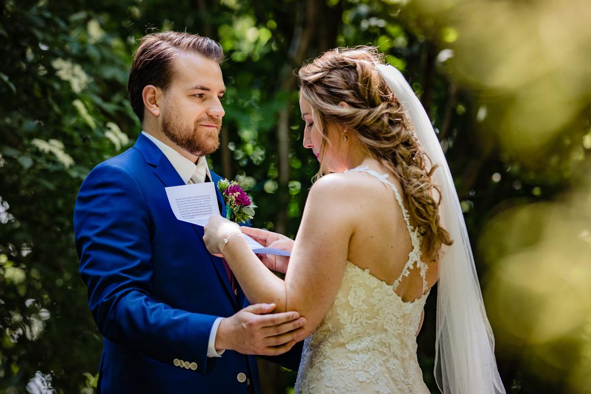 geloftes bruidspaar