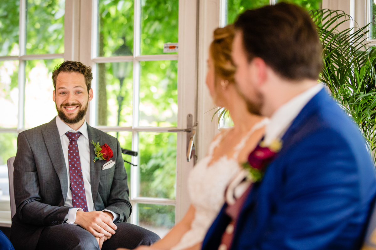 getuigen bruidspaar