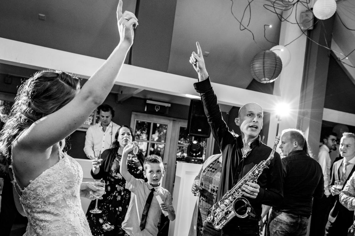 saxofonist trouwfeest