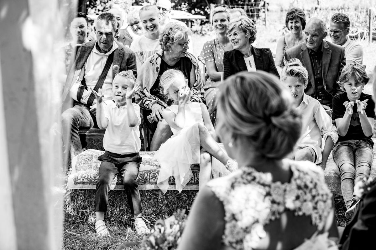 trouwceremonie kinderen